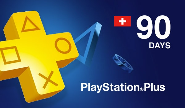 Playstation Plus CARD PSN SWITZERLAND 90 Days