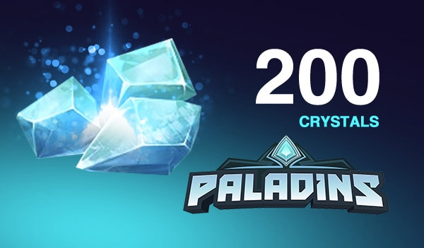 Paladins Crystals GLOBAL 200 Crystals Key