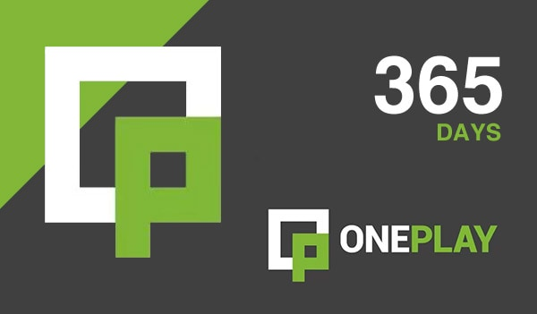 OnePlay VIP Subscription Code GLOBAL 365 Days