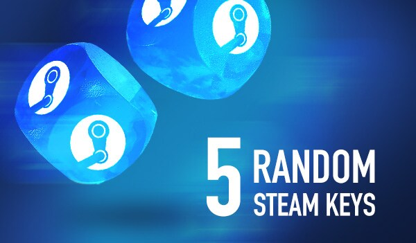Random 5 Keys Steam Key GLOBAL