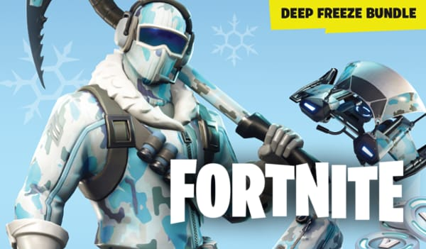 Fortnite Deep Freeze Bundle PSN PS4 Key GLOBAL