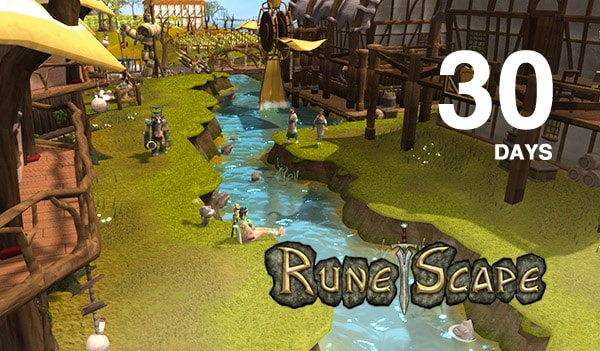 RuneScape Timecard Key EUROPE 30 Days