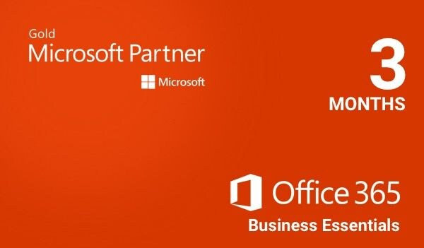 Microsoft Office 365 Business Essentials Microsoft Key EUROPE 3 Months