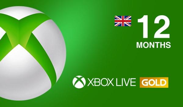 Xbox Live GOLD Subscription Card XBOX LIVE UNITED KINGDOM 12 Months - képernyőkép - 1