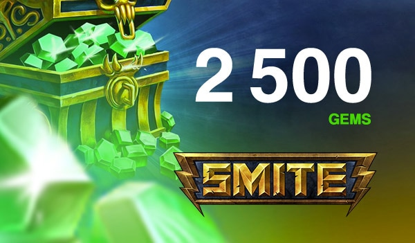 SMITE GEMS SMITE GLOBAL 2 500 Coins Key