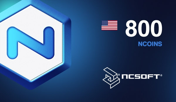 800 NCoins NCSoft NORTH AMERICA Code