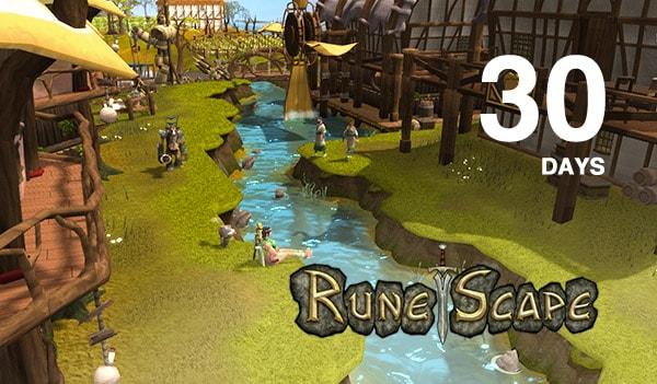 RuneScape Timecard Key GLOBAL 30 Days