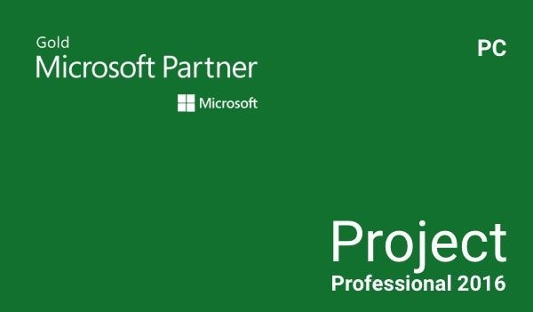 Microsoft Project Professional 2016 Microsoft Key EUROPE