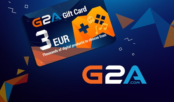 G2A Gift Card 3 EUR GLOBAL