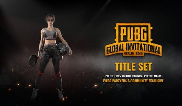 PLAYERUNKNOWN'S BATTLEGROUNDS (PUBG) PGI Title Set Steam Key GLOBAL