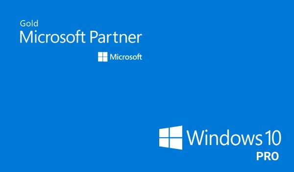 Microsoft Windows 10 Pro Microsoft Key EUROPE Commercial