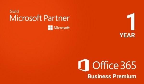 Microsoft Office 365 Business Premium Microsoft Key EUROPE 1 Year