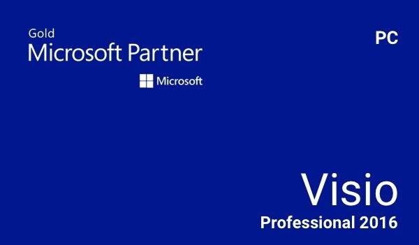 Microsoft Visio Standard 2016 Microsoft Key EUROPE