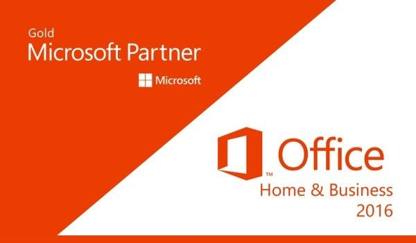 Microsoft Office Home & Business 2016 Microsoft Key PC EUROPE