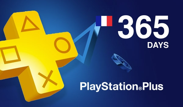 Playstation Plus CARD PSN FRANCE 365 Days