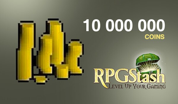 Old School Runescape Gold GLOBAL 10 000 000 Coins