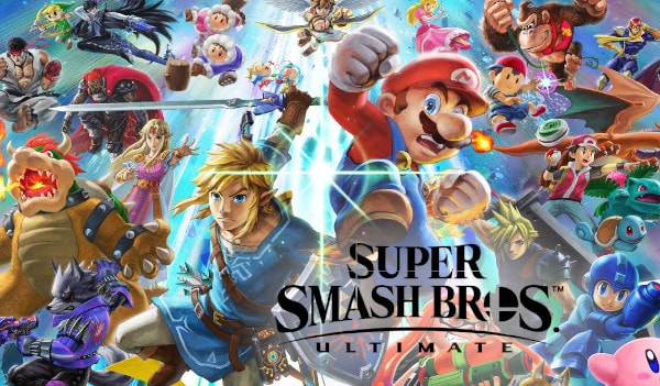 Super Smash Bros. Ultimate Nintendo Key Nintendo Switch EUROPE
