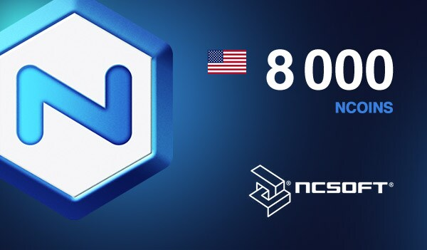 8000 NCoins NCSoft NORTH AMERICA Code