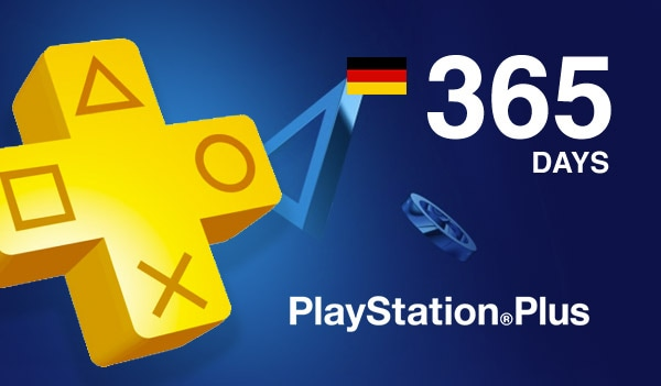 Playstation Plus CARD PSN GERMANY 365 Days - screenshot - 2