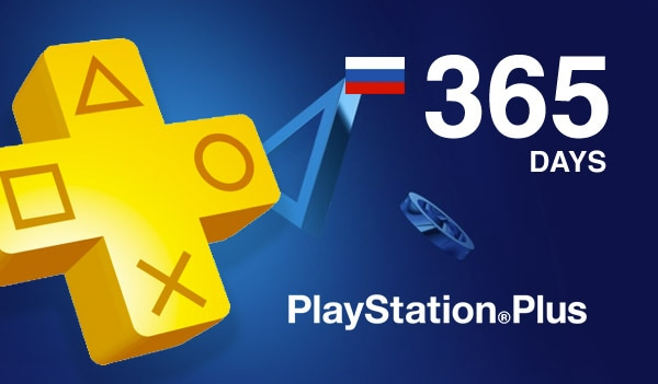 Playstation Plus CARD PSN RU/CIS 365 Days