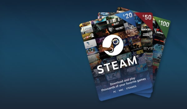 Steam Gift Card NORTH AMERICA 20 USD Key Steam