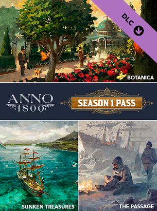 Anno 1800 Season 1 Pass (PC) - Ubisoft Connect Key - EUROPE