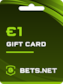Bets.net Gift Card GLOBAL 1 EUR