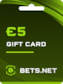 Bets.net Gift Card GLOBAL 5 EUR