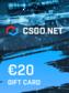 CSGO.net Gift Card 20 EUR