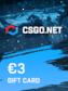 CSGO.net Gift Card 3 EUR