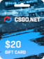 CSGO.net Gift Card 20 USD