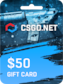 CSGO.net Gift Card 50 USD