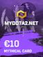 MYDOTA2.net Gift Card 10 EUR