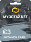 MYDOTA2.net Gift Card 3 EUR