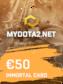 MYDOTA2.net Gift Card 50 EUR