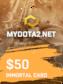 MYDOTA2.net Gift Card 50 USD