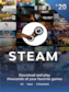 Steam Gift Card 20 EUR - Steam Key - For EUR Currency Only