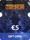 Topskin.gg Gift Card 5 EUR
