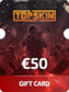 Topskin.gg Gift Card 50 EUR