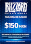 Blizzard Gift Card 150 MXN Battle.net MEXICO