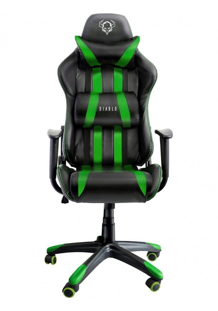 Gaming com X G2a Blackamp; One Green Diablo Chair HeDI29YWbE