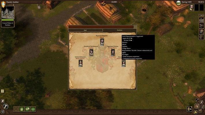 The Guild II Renaissance Key Steam GLOBAL - screenshot - 7