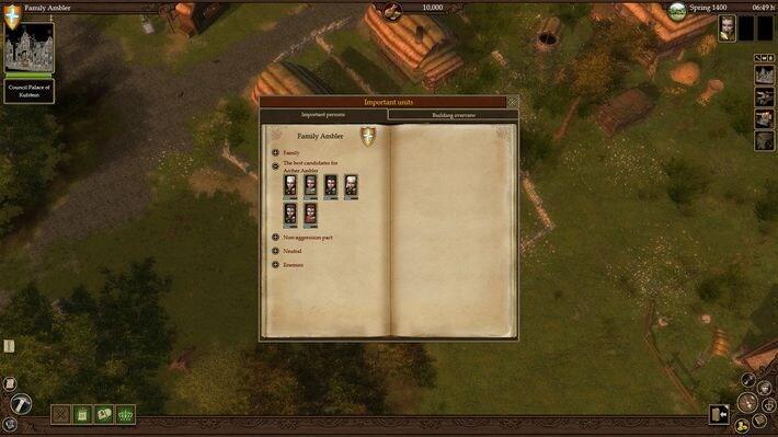 The Guild II Renaissance Key Steam GLOBAL - screenshot - 3