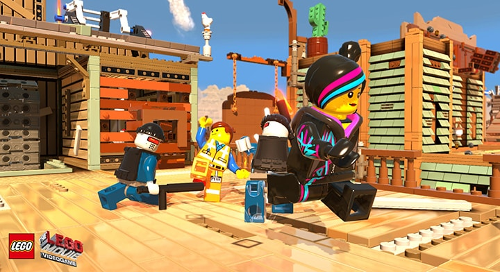 The LEGO Movie Videogame Steam Key GLOBAL - gameplay - 7