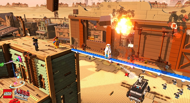 The LEGO Movie Videogame Steam Key GLOBAL - gameplay - 6