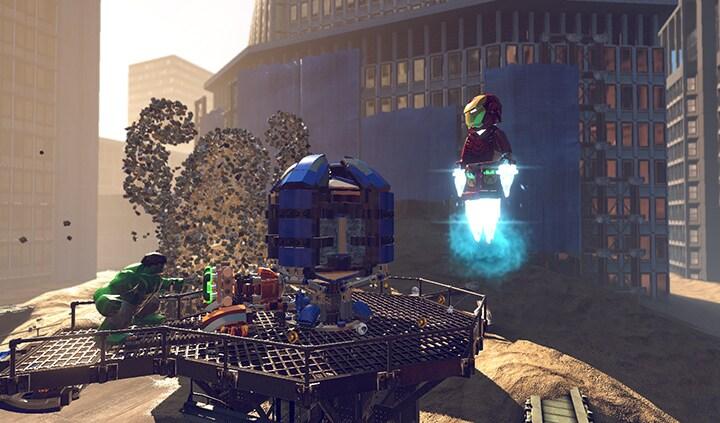 LEGO Marvel Super Heroes Steam Key GLOBAL - rozgrywka - 18