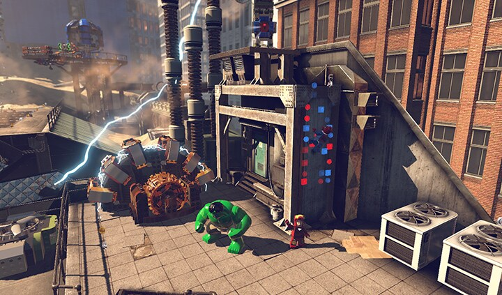 LEGO Marvel Super Heroes Steam Key GLOBAL - rozgrywka - 7
