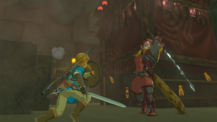 Zelda Breath of The Wild Fight Scene