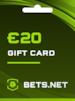 Bets.net Gift Card GLOBAL 20 EUR