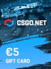 CSGO.net Gift Card 5 EUR